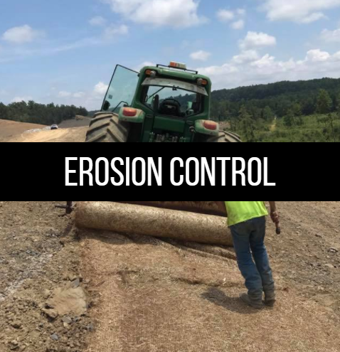 Click here to learn more about erosion control