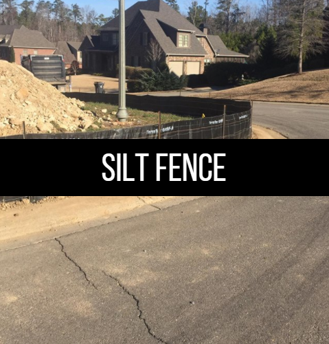Click here to learn more about silt fencing