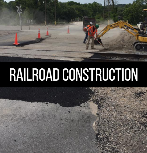 Click here to learn more about rail road construction